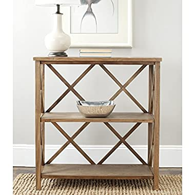 Safavieh American Homes Collection Liam Oak 2-Tier Open Bookcase