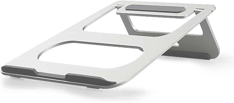 YUAN Aluminiumlegierung Notebook Halterung Heizkörper Regal Portable Basis erhöht Halterung Pad hoch einfach faul faul Support Regal (Farbe   A) B07G2TJZ5Z   | Quality First