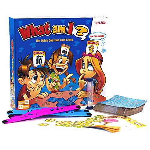 TOYLAND® What Am I Game - Juegos de Mesa Familiares - 2-4...