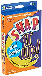 Snap It Up! Phonics: Word Families Game