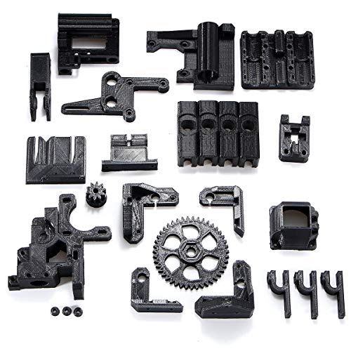 L.L.QYL 3D Printer Accessories ABS Black Filament Black 3D Printed Accessories Parts DIY Kit For RepRap Prusa i3 3D Printer 3D Printer Accessories