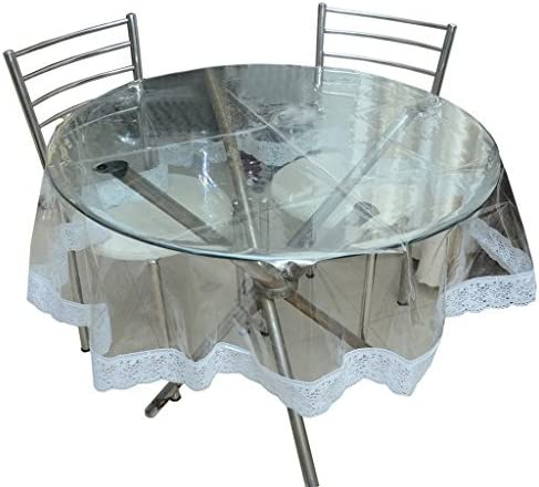 Home Covers Elegant Crystal Clear Cover Department store Beautiful Whi with Table Quantity limited