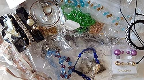 Jewelry Lots Mixed Assorted Grab Bag Wholesale Jewelry lot for Women 50pcs