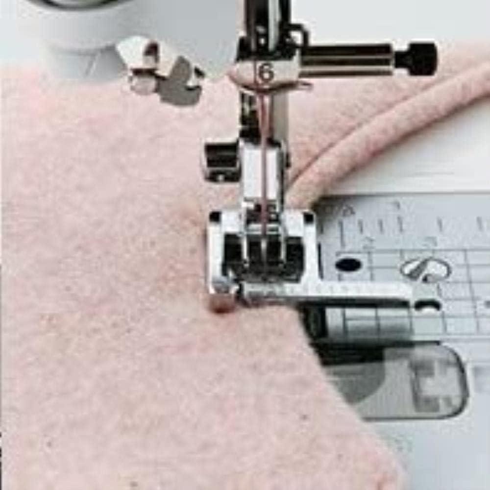 VSLIFE Piezas de la máquina de Coser doméstica prensatelas HM-9913 / prensatelas de Puntada para JANOME Singer Pfaf Juki More Sinfer Bernina Durable