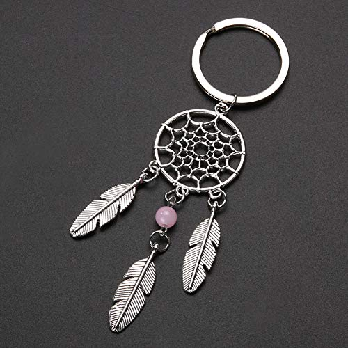 N/ A zinklegering handgemaakte sleutelhanger tas ketting sleutelring veer kwast sleutelring sieraad geschenk