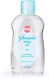 Johnson's Baby Oil Lite, 125ml