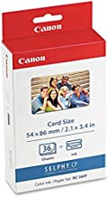 CANON USA CANON KC 36IP PRINT CARTRIDGE / PAPER KIT - 1 - PHOTO PAPER - 2.13 IN X 3.54 IN 7739A001