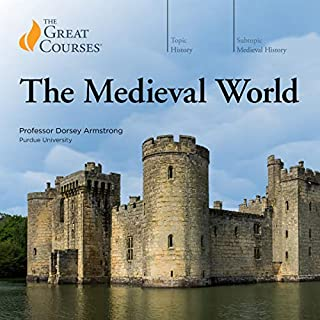 The Medieval World audiobook cover art