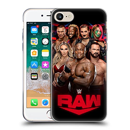 Head Case Designs Licenza Ufficiale WWE Raw Pay-per-View-Superstars Cover in Morbido Gel Compatibile con Apple iPhone 7 / iPhone 8 / iPhone SE 2020