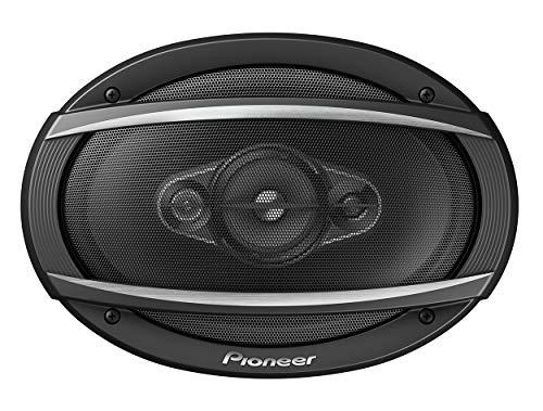 """Pioneer TS-A6980F - Altoparlante coassiale a 4 vie (650 W), 6"""" x 9"""" (circa 15 x 23 cm), membrana IMPP per bassi ottimali, profondità di montaggio 86 mm, potenza di uscita continua 100 W, colore: Nero"""