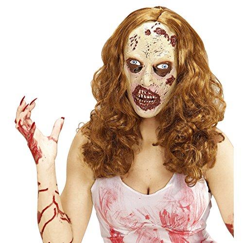 Amakando Antifaz látex Zombie Máscara Muerta Viviente