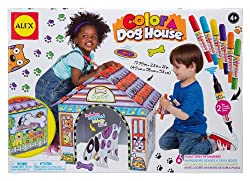 Craft Color a Dog House Children's Kit