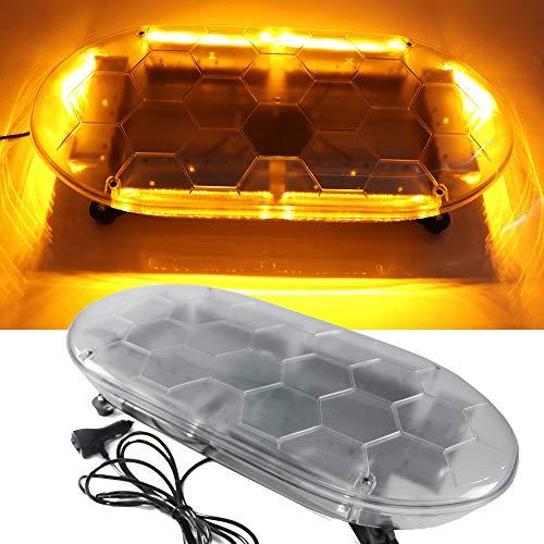 Hehemm 62,2 cm 54 LED Barre de lumière d'urgence lumière clignotante Étanche avertissement lampe