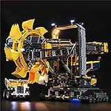 SESAY Juego de luces LED para excavadora Lego 42055 Technic, juego de iluminación compatible con Lego 42055 (sin set Lego).