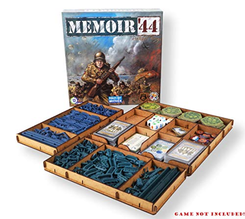 docsmagic.de Organizer Insert for Memoir 44 Box - Encarte