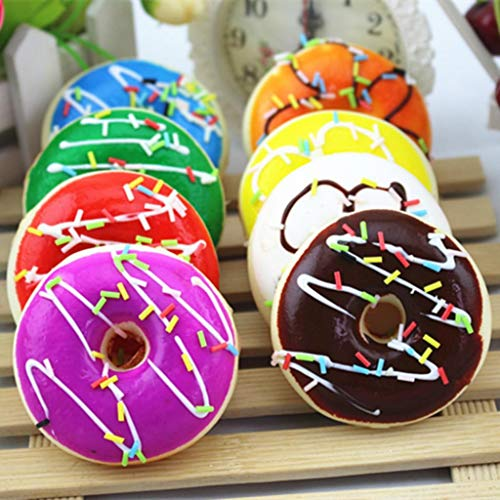 Lowest Prices! Kekailu Squeeze Toy,Simulation Donut Squeeze Toy Slow Rising Kids Adult Stress Reliev...