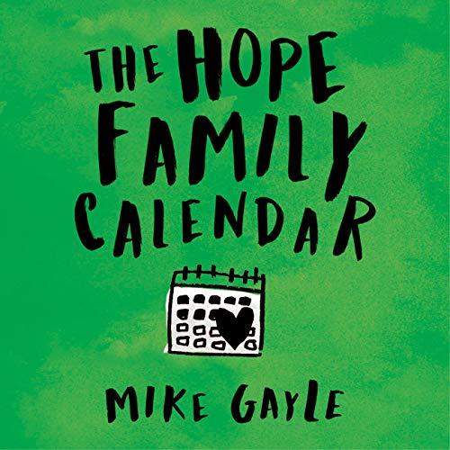 The Hope Family Calendar cover art