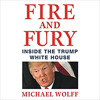 Fire and Fury audiobook cover art
