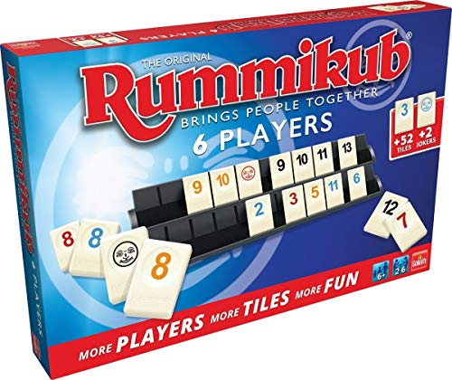 Rummikub Original 6 Jugadores, Multicolor (Goliath 50412
