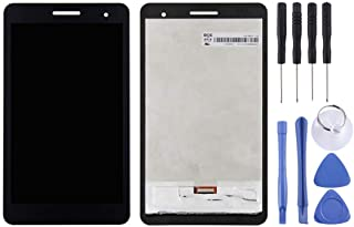 SHIHUI Replacement Parts LCD Screen and Digitizer Full Assembly for Huawei MediaPad T2 7.0 LTE/BGO-DL09 (Black) (Color : Black)