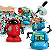 Magic Inductive Robot Toy, Creative Track Puzzle Race Game