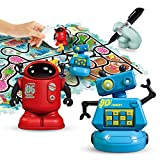 REMOKING STEM Magic Inductive Robot Toys,Creative Track Puzzle Race Game,Learning and...