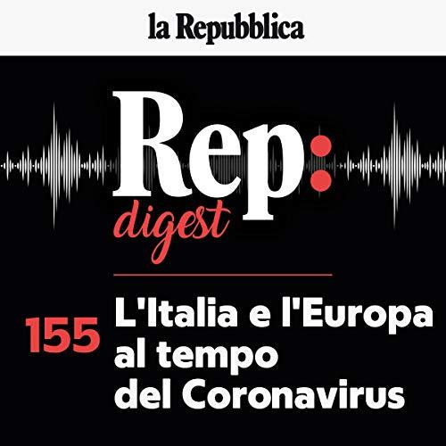 Couverture de L'Italia e l'Europa al tempo del Coronavirus