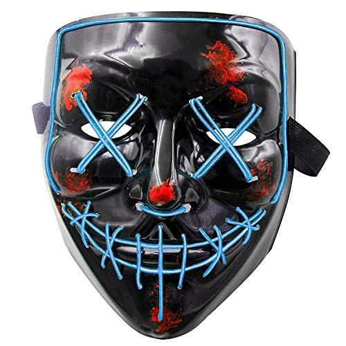 LLF Halloween Creepy Masker, Carnaval Rave Party Kostuum Cosplay Decoratie