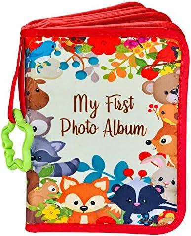 ToddleBee Baby Photo Album Soft Baby Book First Year Baby Photo Book My First Book of Photos product image