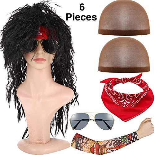 - 80's Haar Band Halloween Kostüm