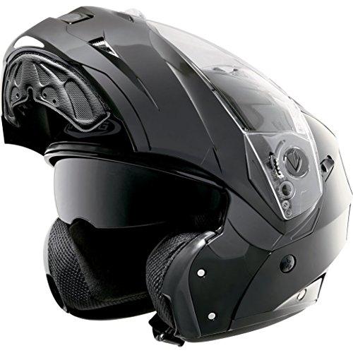 CABERG DUKE II Casco motocicletta parte anteriore mobile - Nero, XL