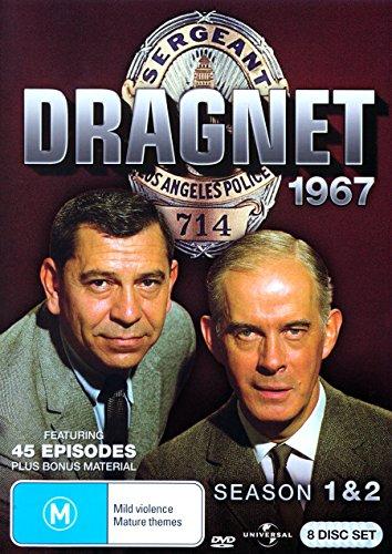 Dragnet: 1967 Season 1 and 2 [NON-USA Format / PAL / Region 4 Import - Australia]