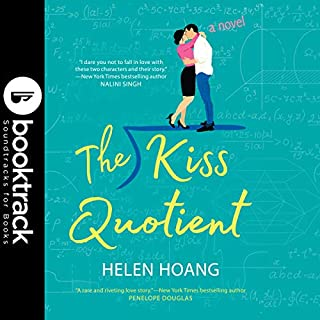 The Kiss Quotient     Booktrack Edition              By:                                                                                                                                 Helen Hoang                               Narrated by:                                                                                                                                 Carly Robins                      Length: 9 hrs and 36 mins     20 ratings     Overall 3.9