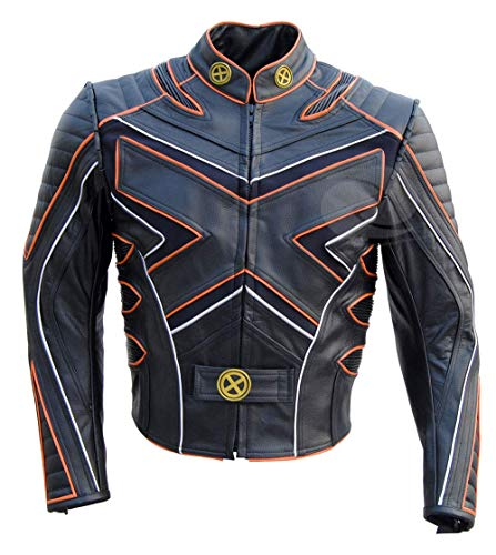 XMEN X3 The Last Stand Speciale Giacca in Pelle Moto