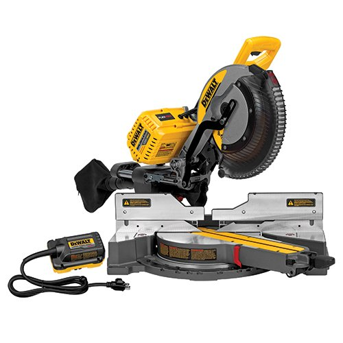 DEWALT FLEXVOLT 120V MAX Miter Saw, 12-Inch, Double Bevel,...