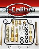 Hi-Caliber Powersports Parts Carburetor Rebuild Kit for 2004-2006 Honda TRX 350 Rancher TE TM FE FM 2x4 4x4 Carb Repair