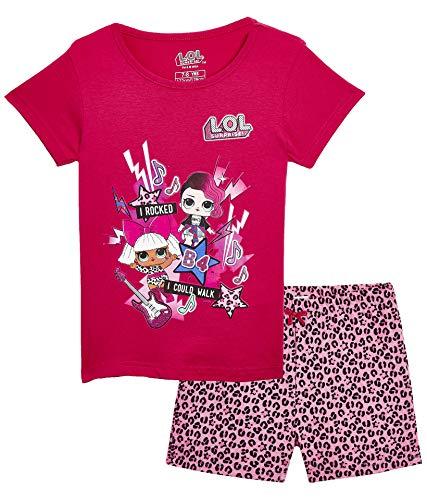 L.O.L Surprise Nachthemd oder Schlafanzug Puppen Confetti Pop für Mädchen LOL Baby Littles (9-10 Jahre, Rock Band PJ)