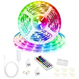 Led Strip Lights, 16.4ft/5M 24V RGB Color Changing Led Strip Lights with 44
