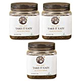 Take It Easy: Cumin, Garcinia, Ginger, Pepper & Cardamom, that helps tackle digestive problems Vegan Friendly Ingredients: Ginger, Pepper Root, Black Pepper, Cardamom, Cumin, Garcinia Indica, Tea Usage Instructions: Take 1 Heaped TeaSpoonful of Conte...
