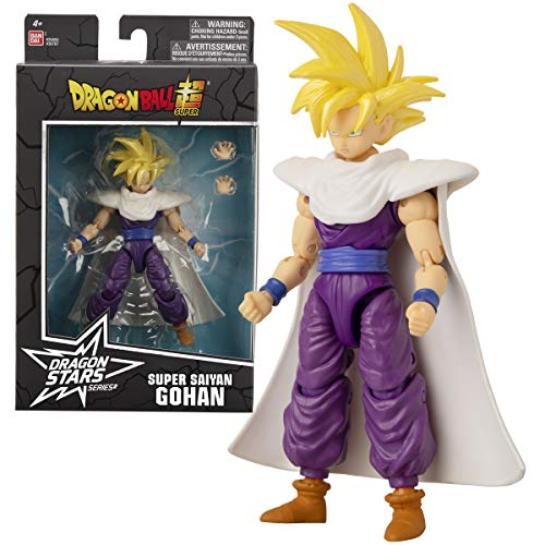 Bandai. Dragon Ball Super. Action figure Dragon Star da 17 cm. Super Saiyan 2 Gohan. 36767