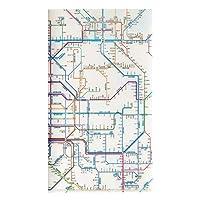 鉄道路線図 チケットホルダー 関西 日本語 RTHKJ