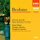 Red Line - Brahms (Klarinettenquintett / Klavierquintett) - Ungar.Streichquar.