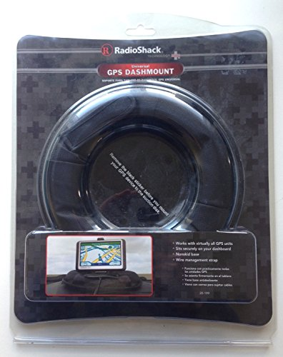 Radio Shack Universal GPS Navigation System Dash Board Mount Weighted Nonskid Fits Virtually All Systems
