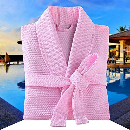 KTUCN Bambusfaser Bademantel XL Herren Robe Long Summer Hotel Liebhaber Home...