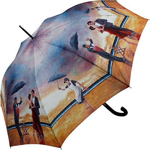 Stockschirm Automatik UV-Schutz Theo Michael Homage to The Singing Butler