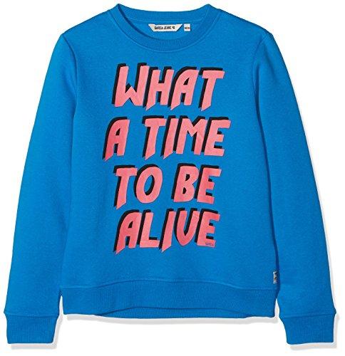 Garcia Kids Garcia Kids Mädchen T82665 Sweatshirt, Blau (Vibrant Blue 2619), 164