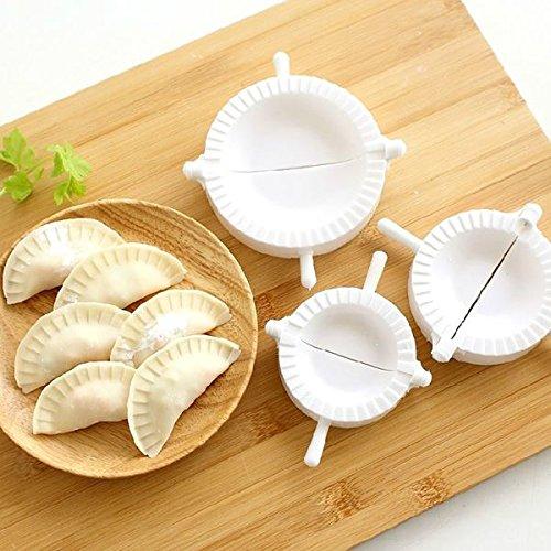 3 Stks Chinese Dumplings Deeg Druk op omzet Ravioli Tool Mold Maker