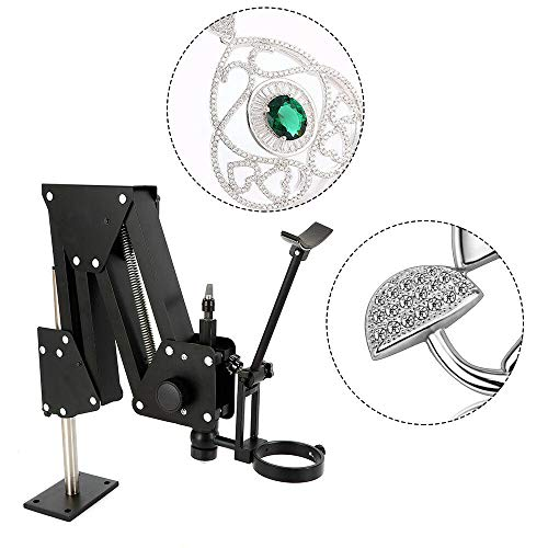 Jewelry Microscope Inlaid Stand for Micro Mirror Multi-Directional Micro-Setting