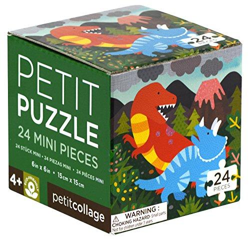 Petit Collage Ptc054 Dinosaures Puzzle