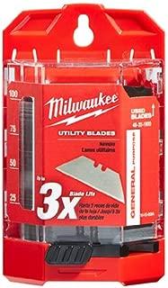 Milwaukee 48-22-1900 100-Piece General Purpose Utility Blades
